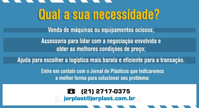 Máquinas e Equipamentos - Jornal de Plásticos