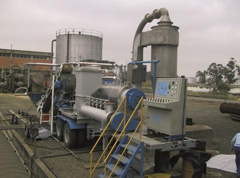 Turbo Móvel in Factory pode ser deslocado na fonte geradora