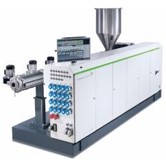 Nova série monorrosca solEX NG com uma unidade de processamento completamente redesenhada para temperaturas de massa fundida mais baixas, rendimentos mais altos e economia de custos energéticos